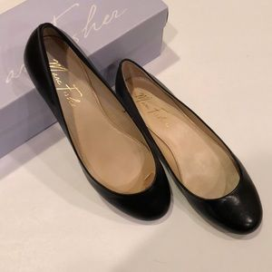 Marc Fisher Shoes - Marc Fisher 💼Gold Heel Ballet Flats